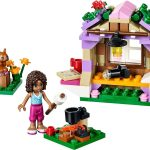 Andrea's Mountain Hut Lego set 1