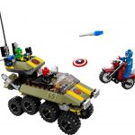 Avengers: Captain America vs. Hydra Lego set 1