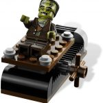 The Crazy Scientist & His Monster Lego set 2