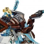 Mammoth's Frozen Stronghold Lego set 3