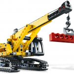 Tracked Crane Lego set 4