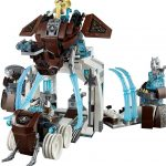 Mammoth's Frozen Stronghold Lego set 4